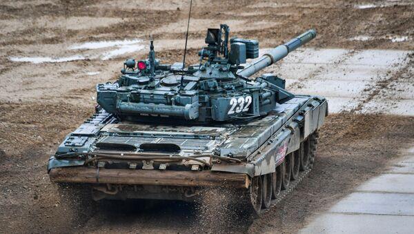 Un tanque T-90A (archivo) - Sputnik Mundo
