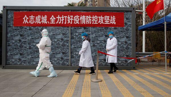 Los médicos chinos - Sputnik Mundo