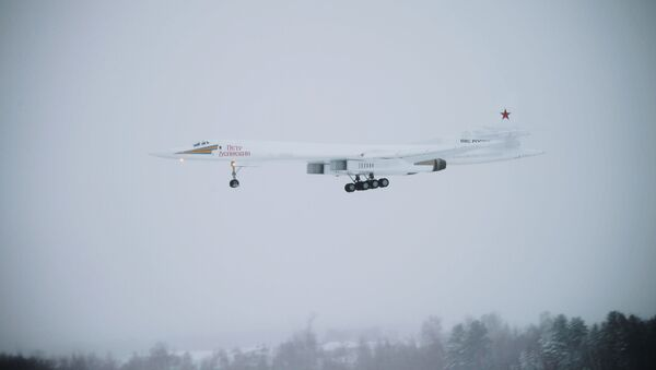 Bombardero ruso Tu-160M - Sputnik Mundo