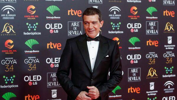 Antonio Banderas, actor español (archivo) - Sputnik Mundo