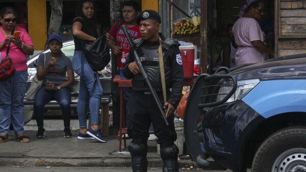 Policía de Nicaragua - Sputnik Mundo