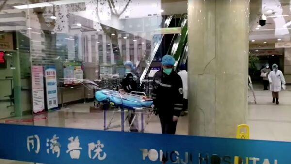 Un hospital en Wuhan (Archivo) - Sputnik Mundo