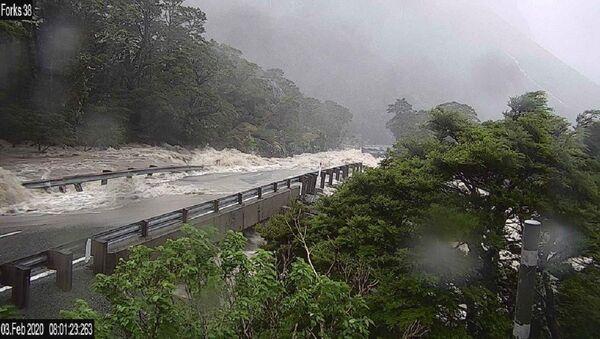 Inundación en Nueva Zelanda - Sputnik Mundo