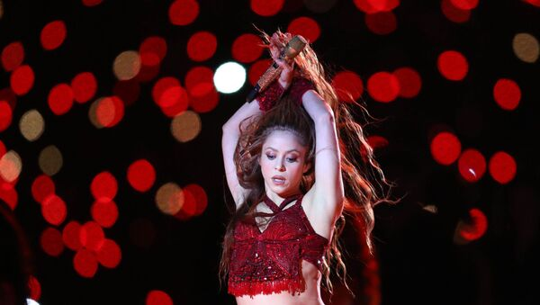 La cantante colombiana Shakira - Sputnik Mundo