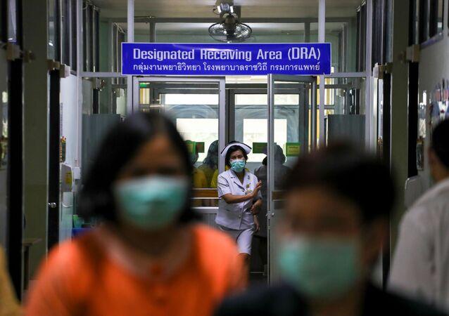 Un hospital en Bangkok, Tailandia