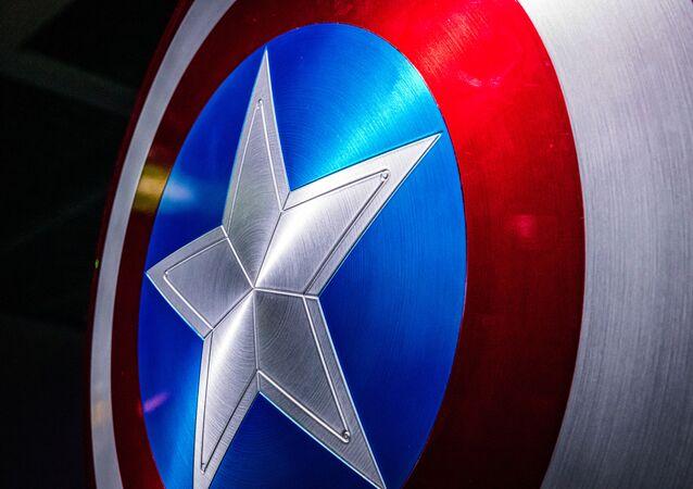El escudo del Capitán América