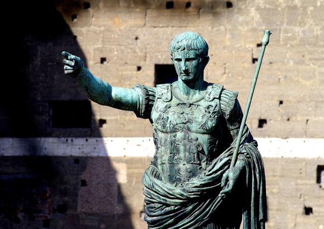 Saludo romano (imagen referencial)