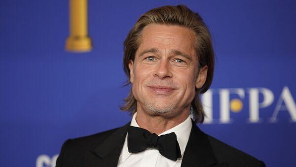 El actor Brad Pitt - Sputnik Mundo