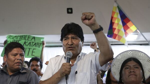Evo Morales, expresidente de Bolivia (archivo) - Sputnik Mundo