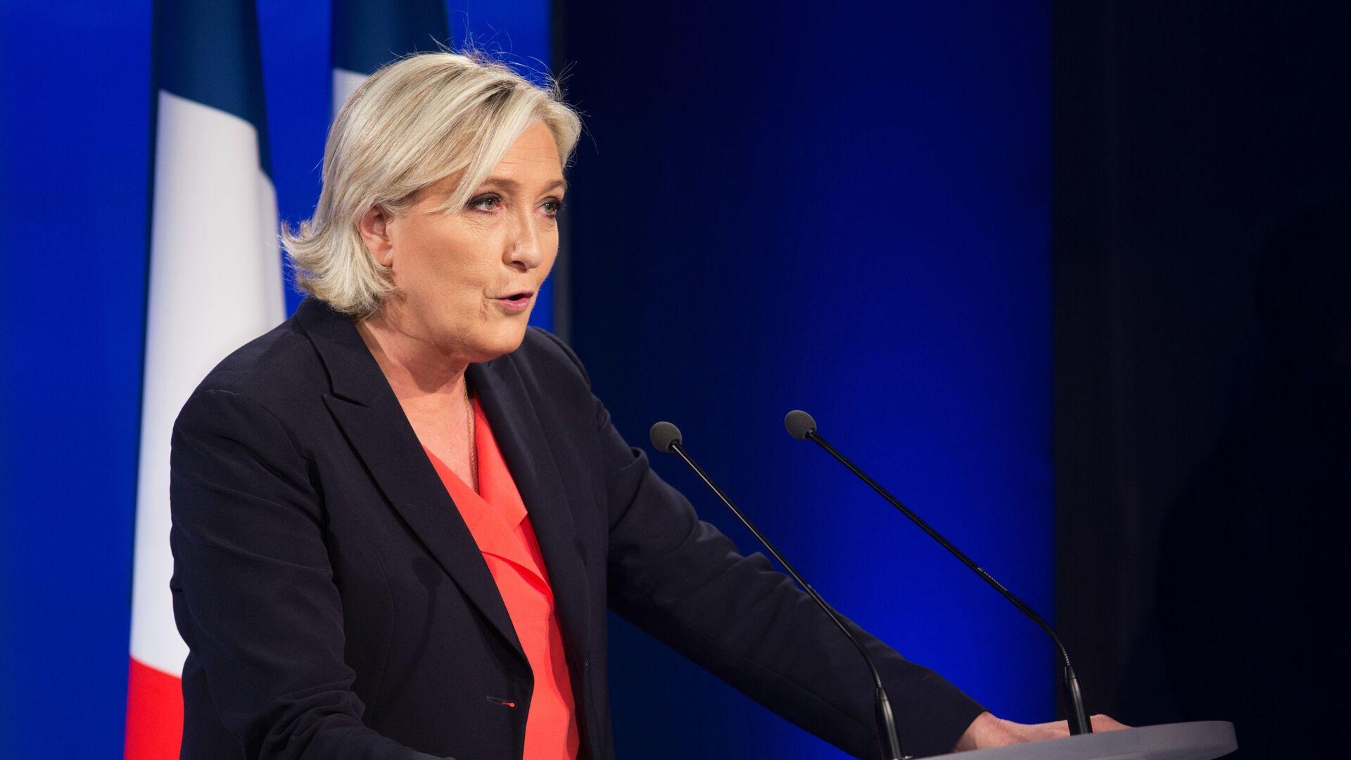 Marine Le Pen, política francesa, líder del partido Agrupación Nacional - Sputnik Mundo, 1920, 01.03.2021