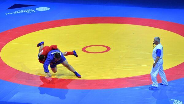 Campeonato de sambo (imagen referencial) - Sputnik Mundo