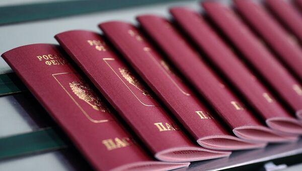 Pasaportes rusos (imagen referencial) - Sputnik Mundo