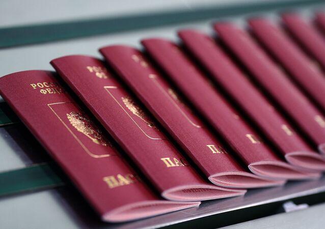 Pasaportes rusos (imagen referencial)
