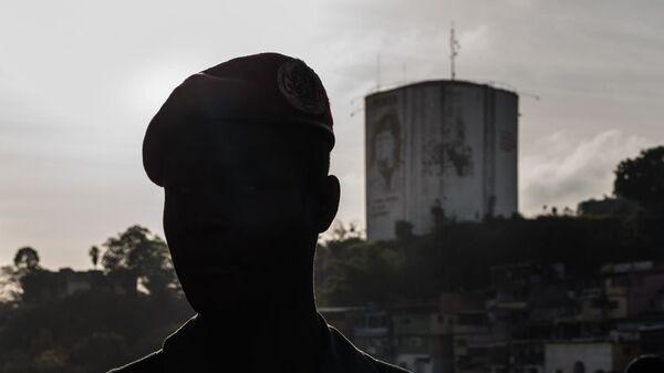Un militar venezolano - Sputnik Mundo
