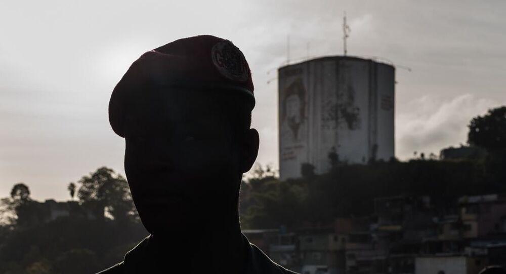 Un militar venezolano