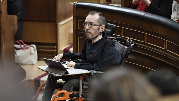 Pablo Echenique en el Congreso de los Diputados - Sputnik Mundo