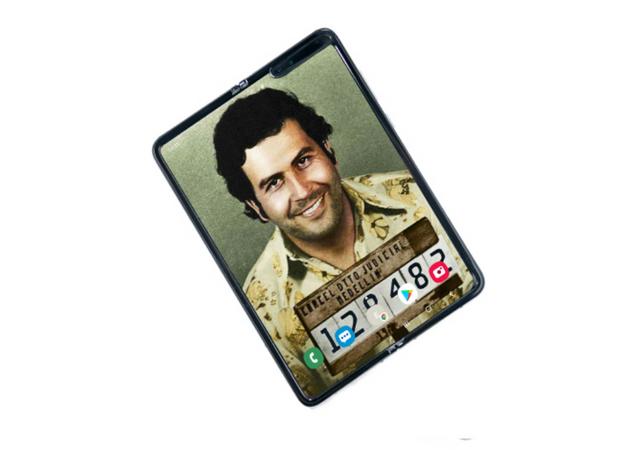 Escobar Fold 2, el 'smartphone' plegable de Escobar Inc.