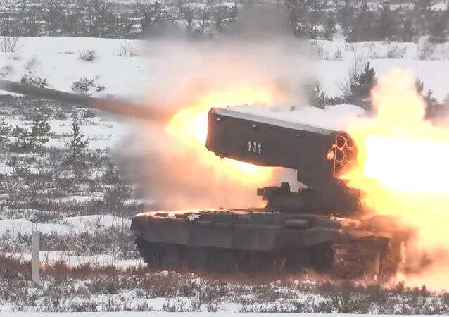 Los militares rusos llevan al límite las capacidades de sus implacables lanzallamas