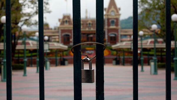 El parque de atracciones Disneyland Hong Kong - Sputnik Mundo