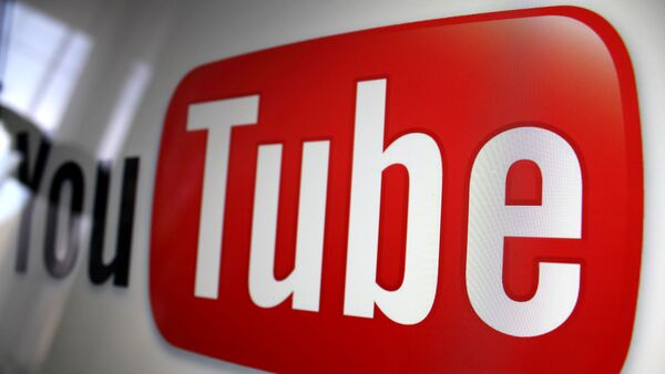 Logotipo de YouTube - Sputnik Mundo