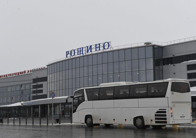 Aeropuerto en la provincia rusa de Tiumén, en el sur de Siberia