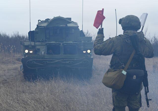 Ejercicios tácticos en Rusia