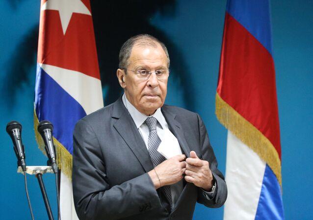 La visita a Cuba del canciller ruso, Serguéi Lavrov (archivo)