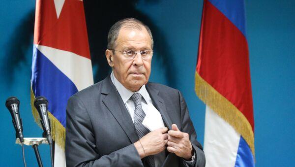 La visita a Cuba del canciller ruso, Serguéi Lavrov (archivo) - Sputnik Mundo