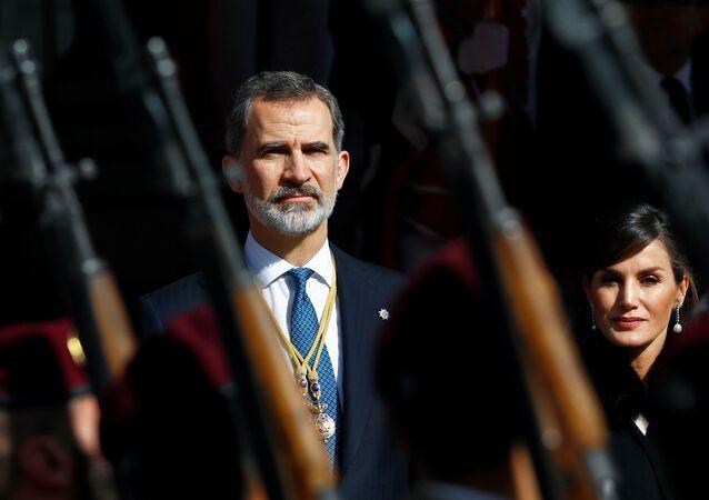 Felipe VI, el rey de España