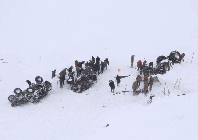 Avalancha en Turquía