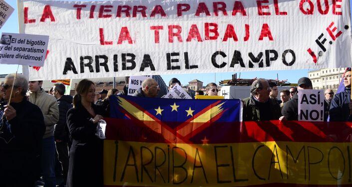 Protesta de agricultores Madrid