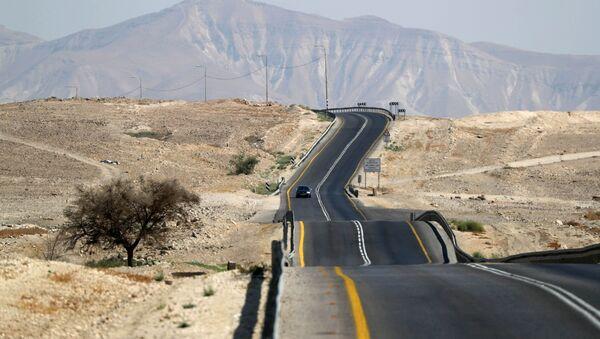 Una carretera en el Valle de Jordán, territorio ocupado por Israel - Sputnik Mundo