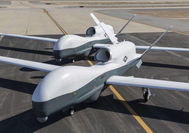 Drones estadounidenses MQ-4C Triton