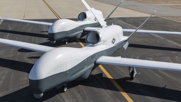 Drones estadounidenses MQ-4C Triton - Sputnik Mundo