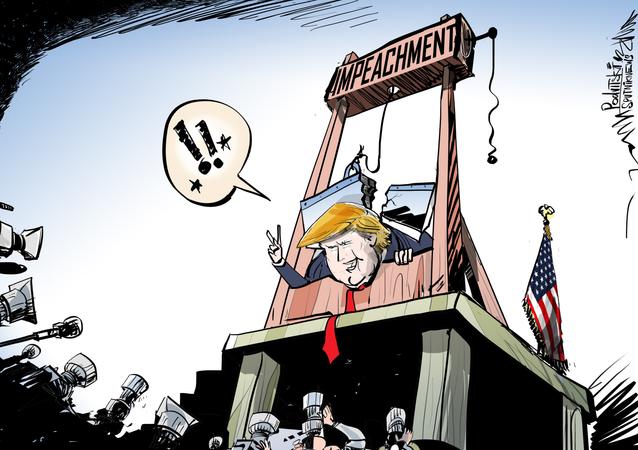 El 'impeachment' contra Trump: la guillotina se rompe