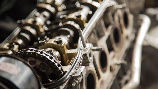 Un motor (imagen referencial) - Sputnik Mundo