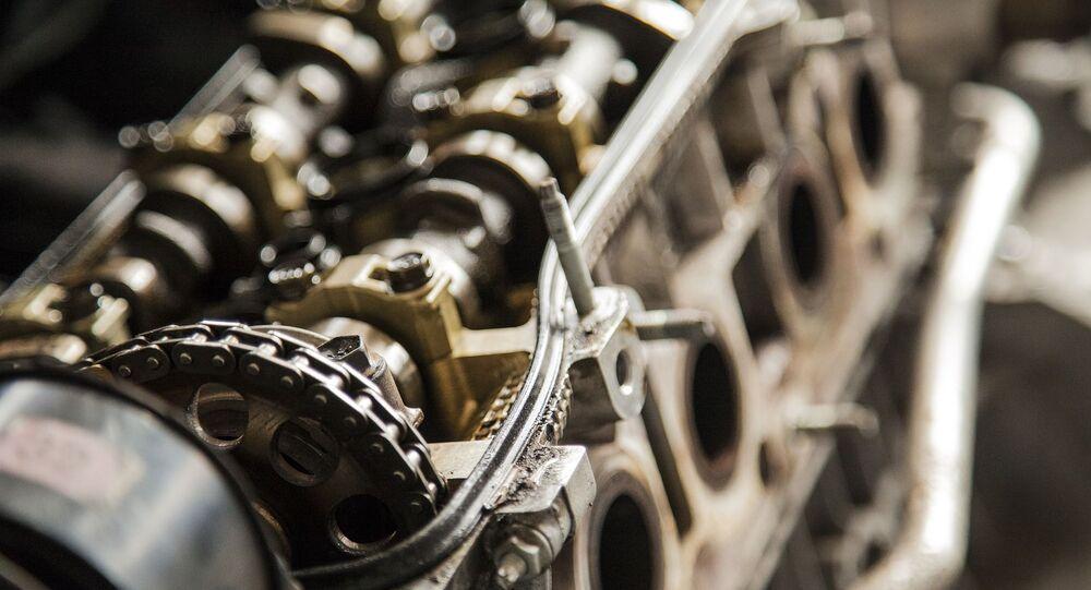 Un motor (imagen referencial)