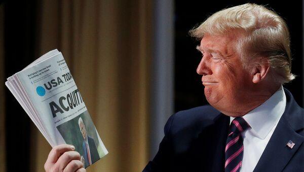 Donald Trump, el presidente de EEUU - Sputnik Mundo