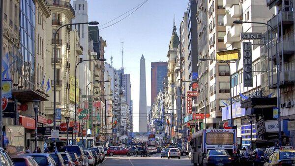 Una postal de la Ciudad de Buenos Aires, la capital de Argentina. Imagen referencial - Sputnik Mundo