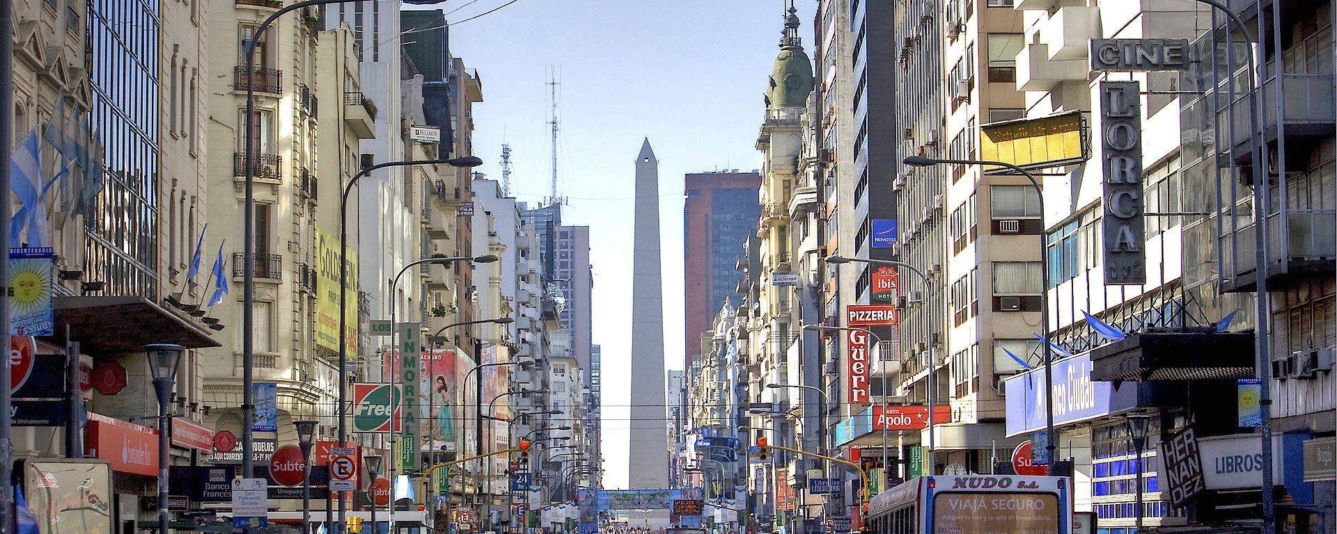 Una postal de la Ciudad de Buenos Aires, la capital de Argentina. Imagen referencial - Sputnik Mundo, 1920, 04.06.2021