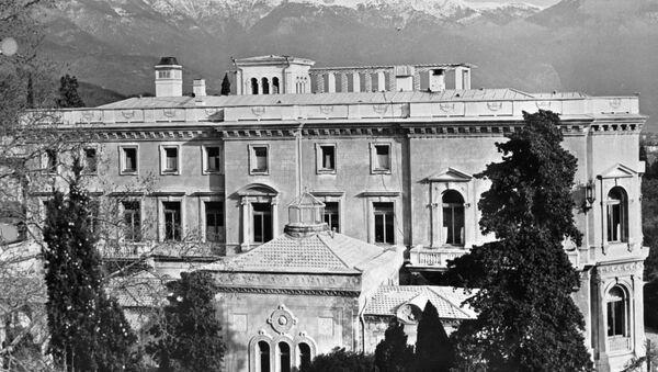 El palacio de Livadia donde tuvo lugar la conferencia - Sputnik Mundo