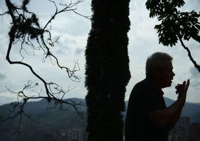Jhon Jairo Velasquez, alias Popeye, exsicario de Pablo Escobar