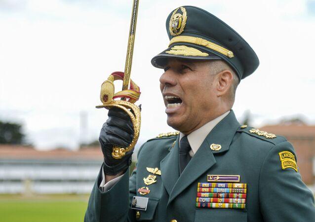 Eduardo Zapateiro, comandante del Ejército de Colombia