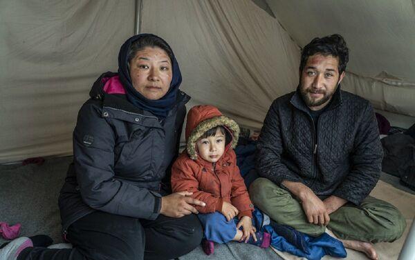 El campo de Moria alberga más de 20.000 refugiados - Sputnik Mundo