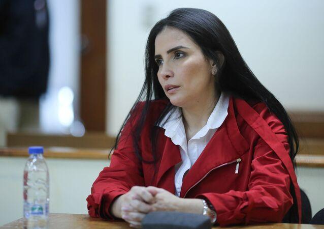 Aída Merlano, exlegisladora colombiana