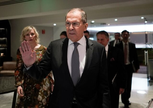 El ministro de Asuntos Exteriores ruso, Serguéi Lavrov
