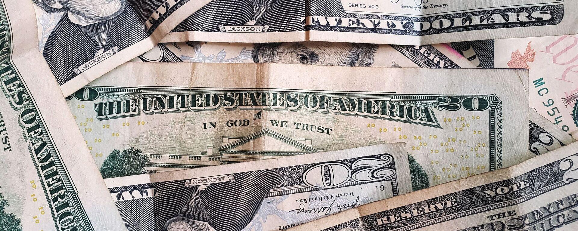 Dólares estadounidenses (imagen referencial) - Sputnik Mundo, 1920, 01.04.2021