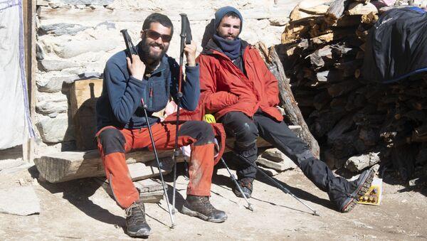 Sergi Unanue y Dani Benedicto en el Himalaya - Sputnik Mundo