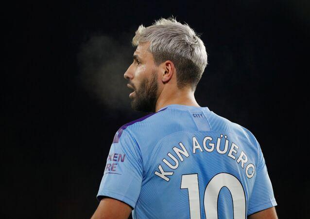 Sergio 'el Kun' Agüero, futbolista argentino
