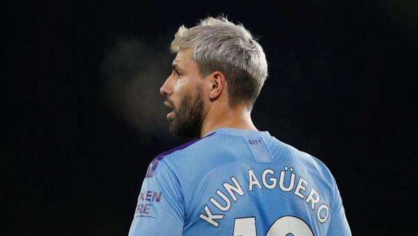 Sergio 'el Kun' Agüero, futbolista argentino - Sputnik Mundo